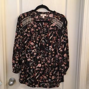 Style & company peasant blouse